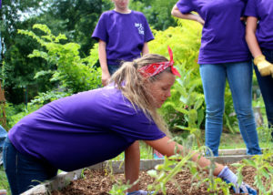 Volunteers-Aurora-IL-GraceUnitedMethodistChurch-MariesCommunityGarden-June2016(2)