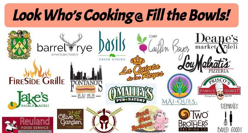 Who's Cooking? 20 Restaurants @ Fill the Bowls! August 28th