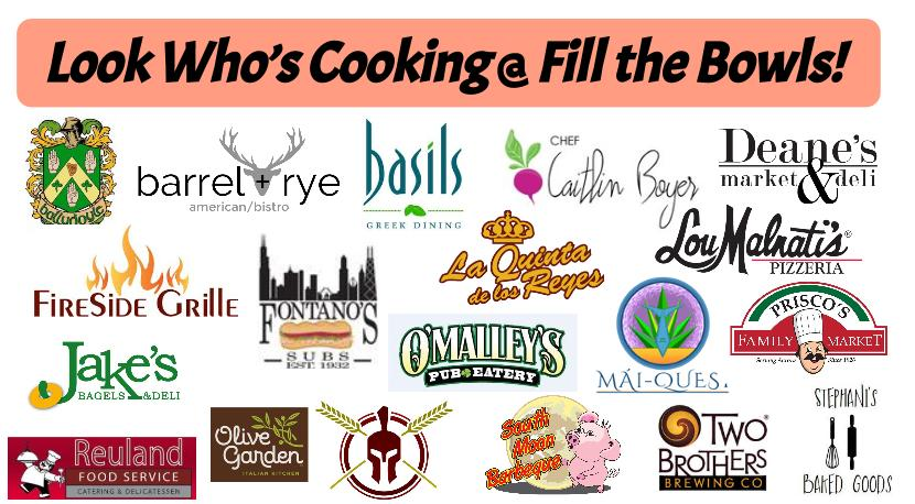 Taste of Fox Valley! Enjoy Soup & Samples from 20 area restaurants on Sunday, August 28th 2016.