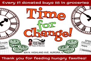 Time for Change! Collection Cans