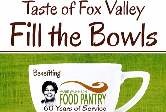 Taste of Fox Valley Fill the Bowls– Sponsorship Opportunities Available