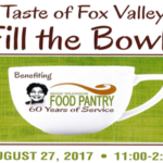Taste of Fox Valley Fill the Bowls