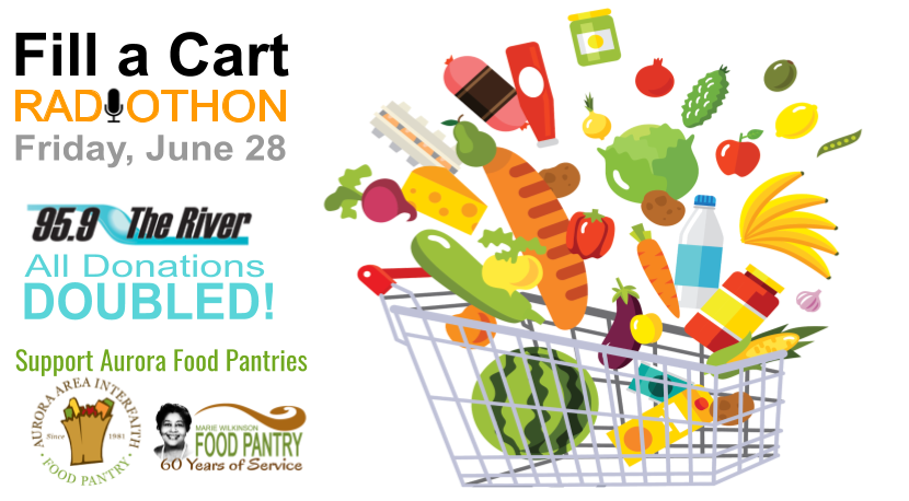 Fill a Cart Radiothon! Food Pantry Fundraiser