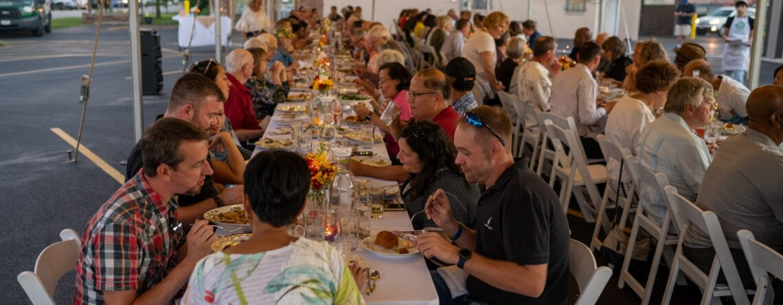 Pictures from the Garden Harvest Dinner!
